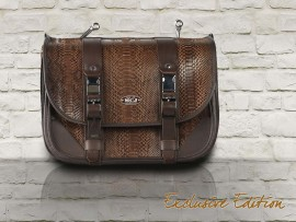 Brown Python Exclusive Bag