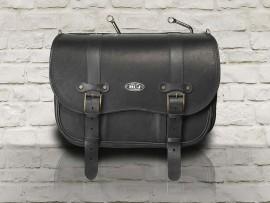 Borsa Vintage in pelle nera