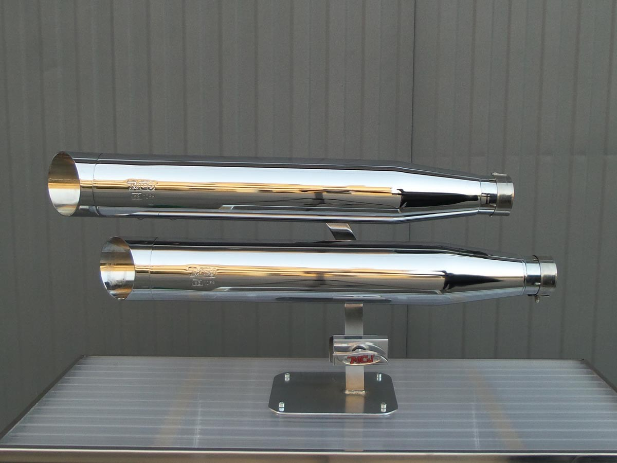 2 in 2 Chrome Royal mufflers
