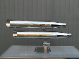 2 in 2 Chrome Royal Muffler