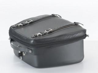 Bauletto MCJ per Yamaha T-Max in versione nera con cuciture nere