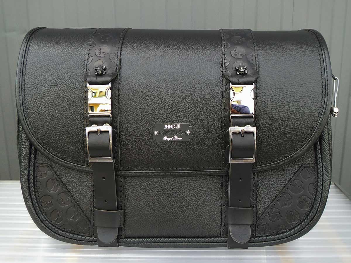 Skull leather Bag